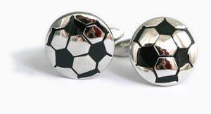 accesorios hombre gemelos futbol
