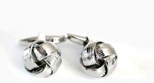 accesorios hombre gemelos nudo metálico2