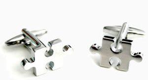 accesorios hombre gemelos puzzle