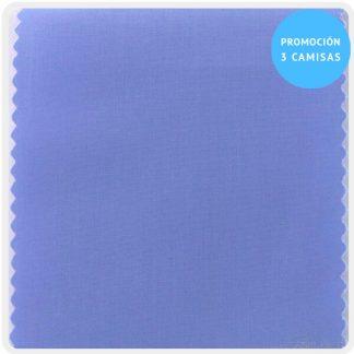 camisa a medida mezcla azulon 5900-38