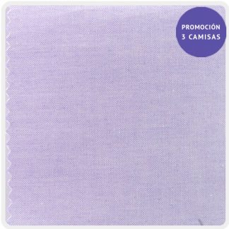 camisa a medida mezcla pin point malva 5921-12