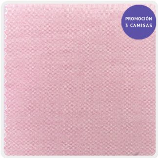 camisa a medida mezcla pin point rosa 5921-07