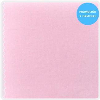 camisa a medida mezcla rosa 5900-16