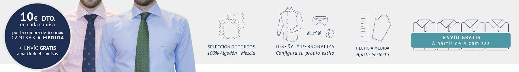 camisas a medida de hombre online