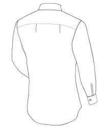 espalda pliegues laterales