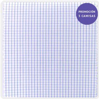 popelin algodon cuadro azul 5202-04
