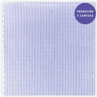 popelin algodon micro cuadro azul 5202-02
