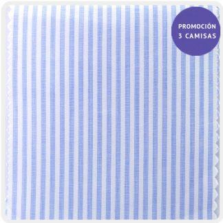 popelin celeste raya azul y blanco 5008-05