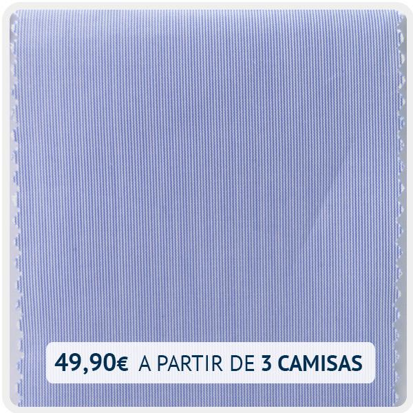 popelin mil rayas azul 5005-01