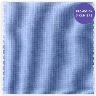 popelin mil rayas azul 5071-02